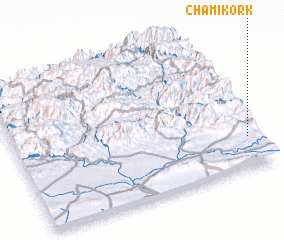 3d view of Chami Kork