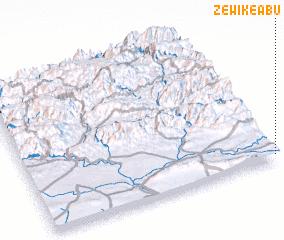 3d view of Zēwik-ē Abū
