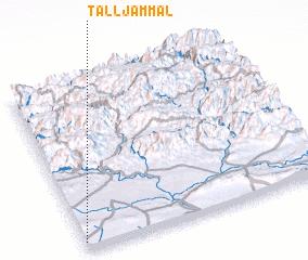 3d view of Tall Jammāl