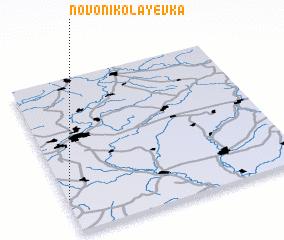 3d view of Novonikolayevka