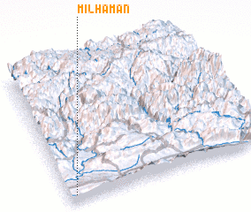 3d view of Mil Hamān