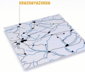 3d view of Krasnaya Zor\