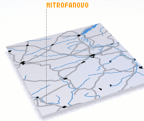 3d view of Mitrofanovo