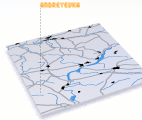 3d view of Andreyevka