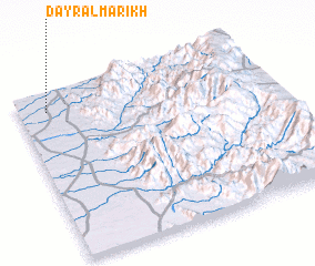 3d view of Dayr al Marikh