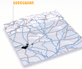3d view of Gōrēgāvān