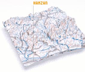 3d view of Hamzān