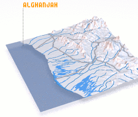 3d view of Al Ghanjah