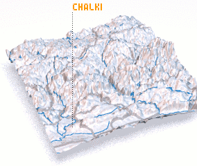 3d view of Chālkī