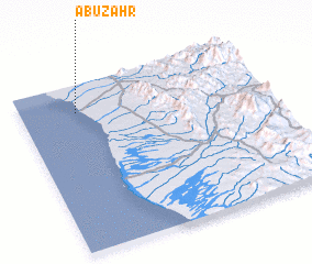 3d view of Abū Zahr