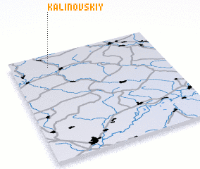 3d view of Kalinovskiy