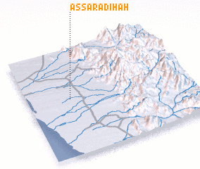 3d view of Aş Şarādiḩah