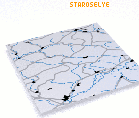 3d view of Starosel\