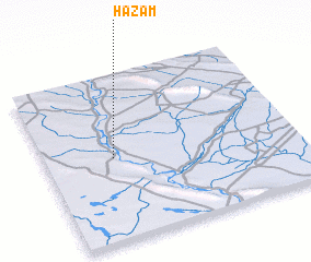 3d view of Ḩazam