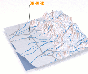 3d view of Qawqar