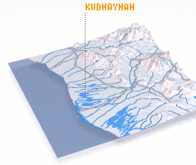 3d view of Kudhayḩah