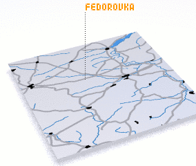 3d view of Fëdorovka