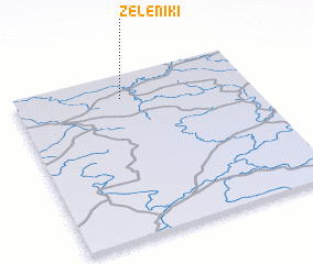 3d view of Zeleniki
