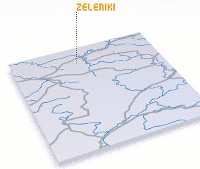 3d view of Zeleniki