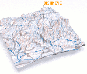 3d view of Bishm-ē Yē