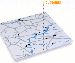 3d view of Molodënki