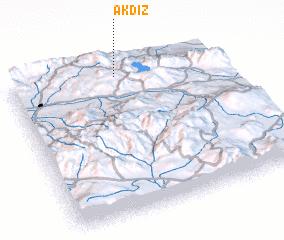 3d view of Akdiz