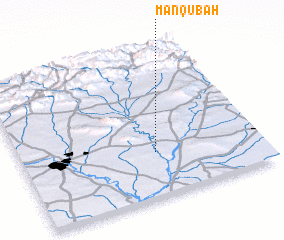 3d view of Manqūbah