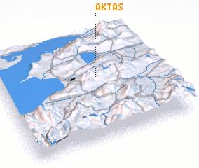 3d view of Aktaş