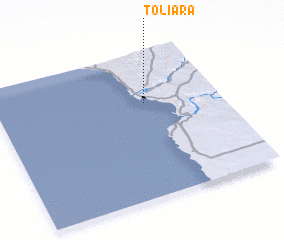 3d view of Toliara