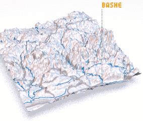 3d view of Bāshē