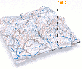 3d view of Sāka