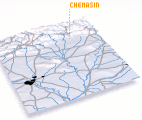 3d view of Chemasin