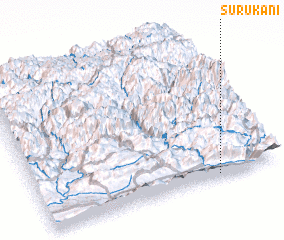 3d view of Surūkānī