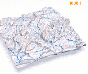 3d view of Divok
