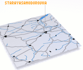 3d view of Staraya Samodurovka