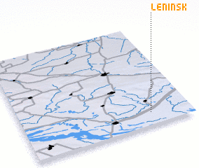 Leninsk Russia Map Nonanet - Leninsk map