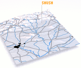 3d view of Shūsh