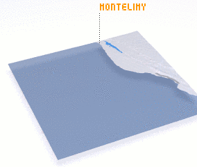 3d view of Montelimy