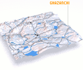 3d view of Ghazanch\