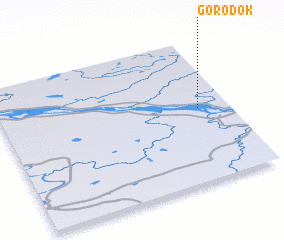 3d view of Gorodok