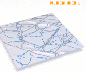3d view of Pilingah Kuchil