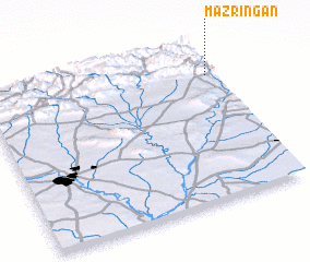 3d view of Mazringan