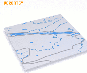 3d view of Vorontsy