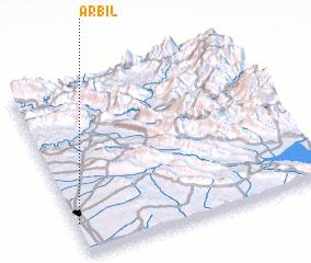 3d view of Arbīl