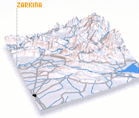 3d view of Zarkīna