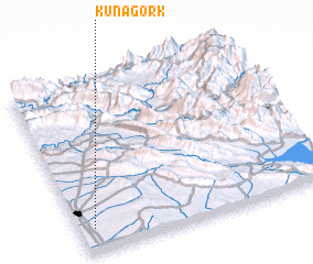 3d view of Kuna Gork