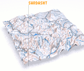 3d view of Sardasht