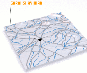3d view of Garah Shaykhān