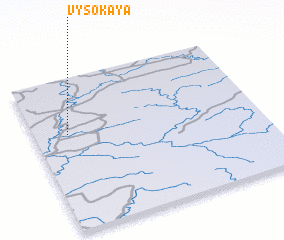 3d view of Vysokaya