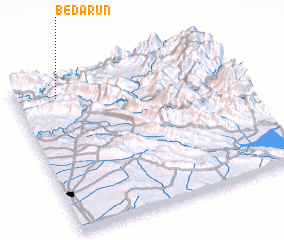 3d view of Bēdārūn